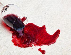 Las manchas del vino